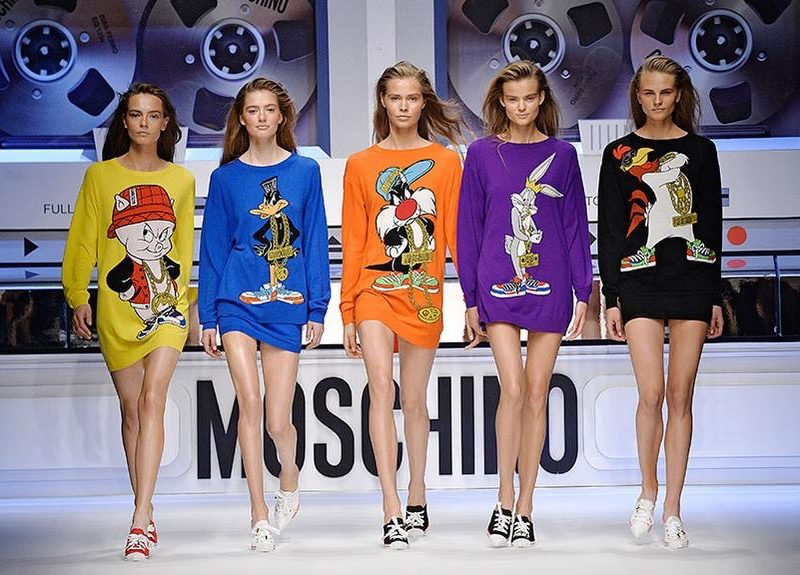 Moschino Goes Looney Tunes