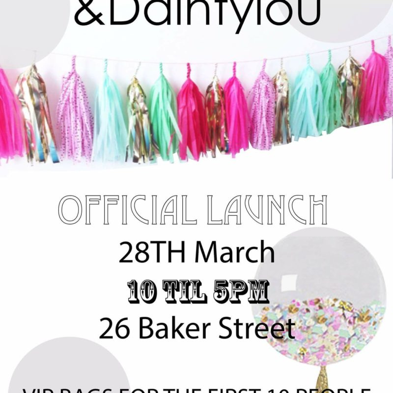 Dainty Lou & Dolly Rockers Store Launch