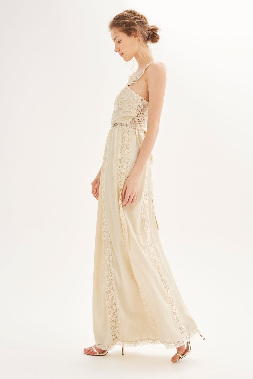 1250cbeec77 Topshop Bridal Collection Fashion Voyeur Bridesmaid Ivory Cross Neck