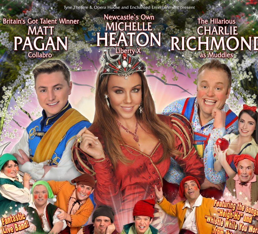 snow white & the seven dwarfs panto at tyne theatre in newcastle - fashion voyeur blog