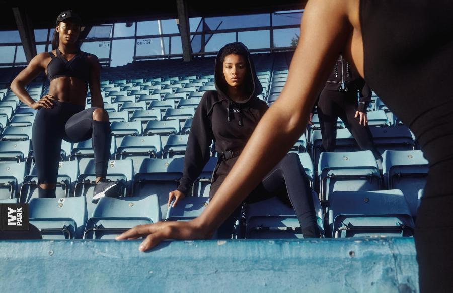 A shot from the Ivy Park SS18 campaign