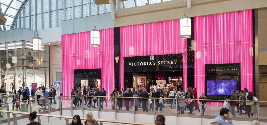 An artist's impression of the brand new Victoria's sEcret store coming to Intu Metrocentre in Fall 2018