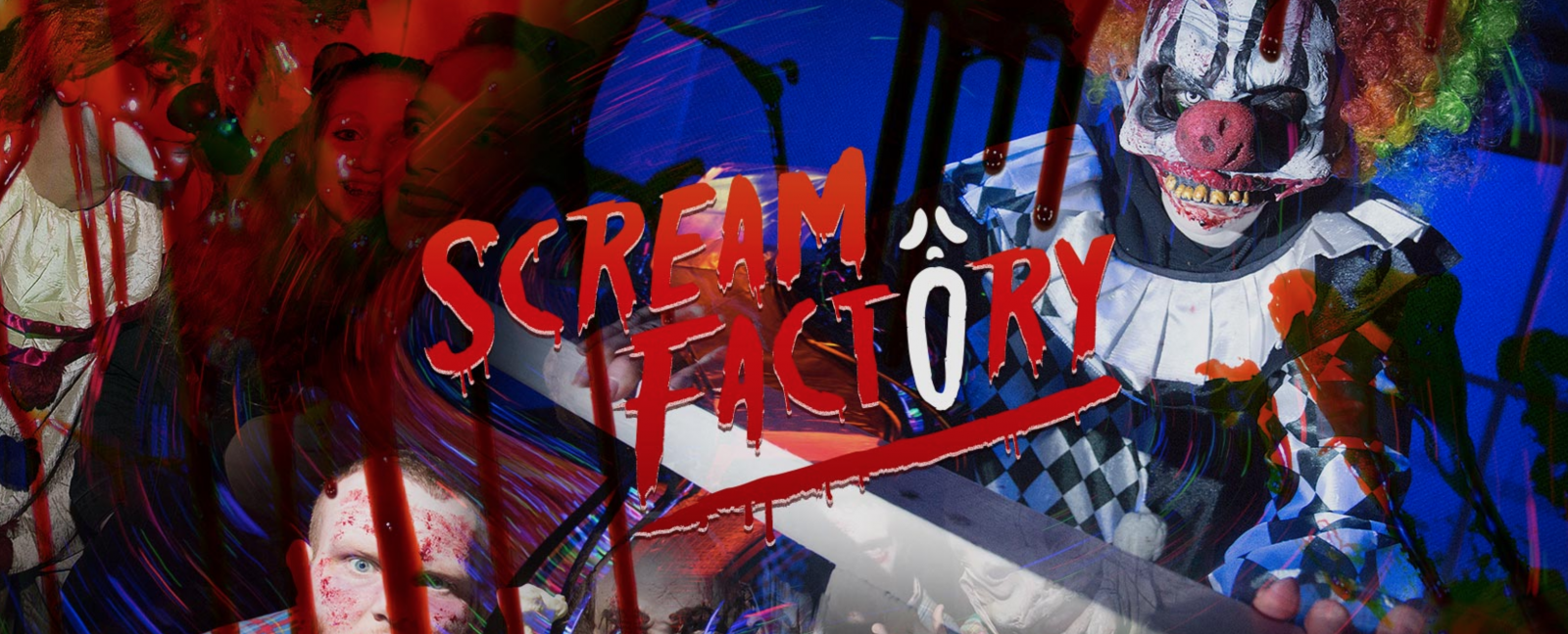 Lead Image of Scream Factory 2018 Halloween Experience featuring killer clowns for Fashion Voyeur Blog