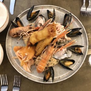 Beadnell Towers Seafood Sharing Platter