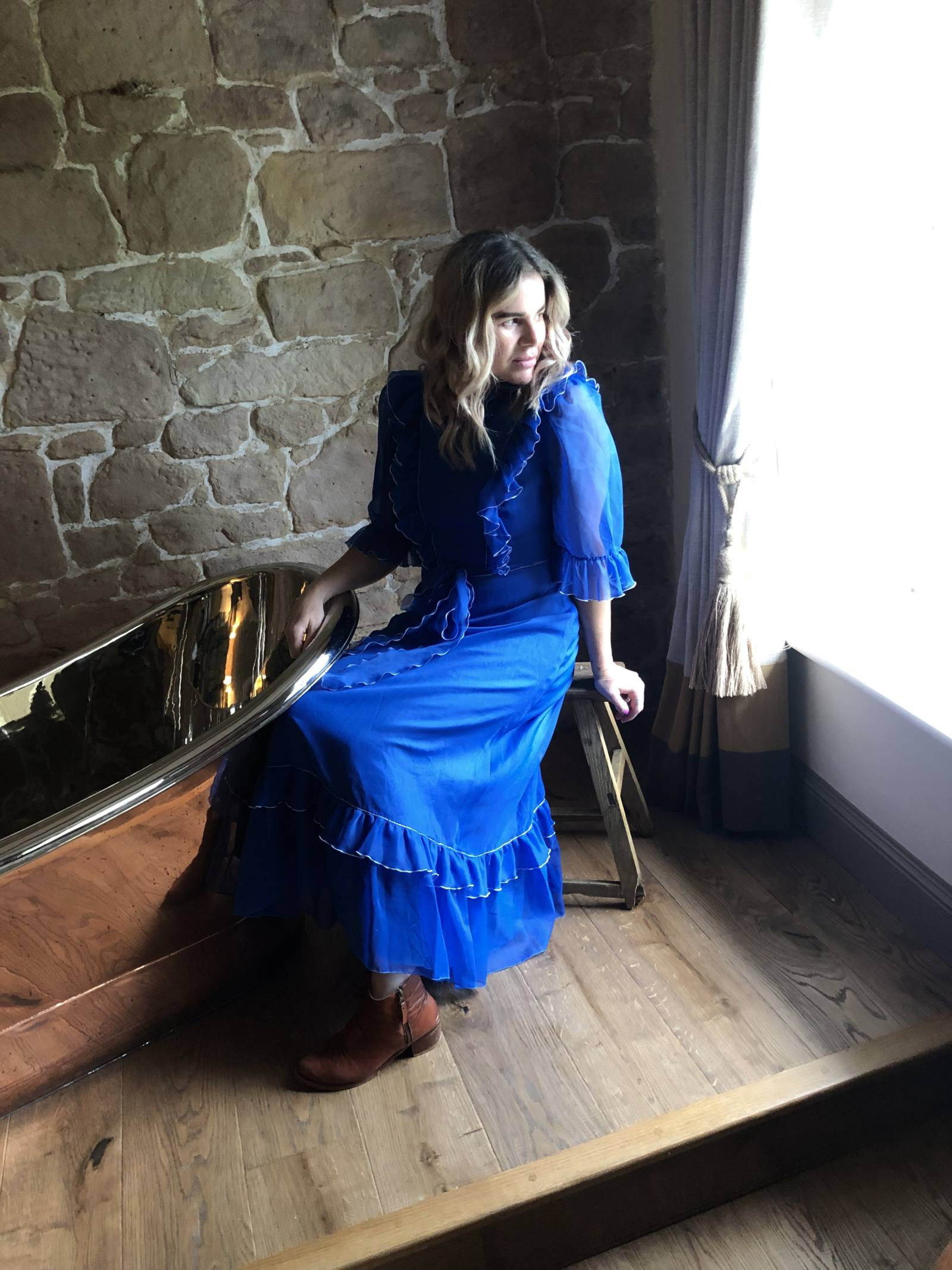 What I Wore: To Dinner at Beadnell Towers