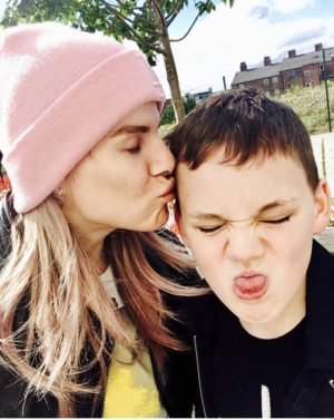 Blogger Pixie Tenenbaum and her son Plankton