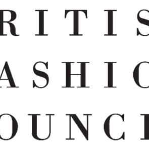 An image displaying the British Fashion Council's logo